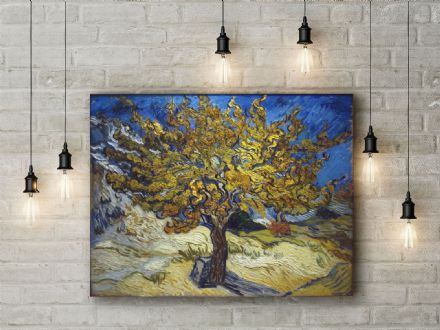 Vincent Van Gogh: Mulberry Tree. Fine Art Canvas.